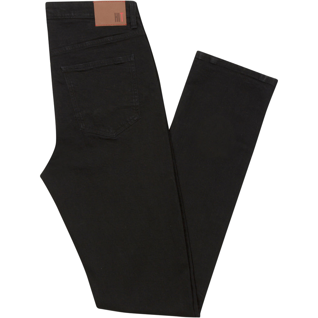 Have It Tall Straight Leg Black Stretch Denim Jeans