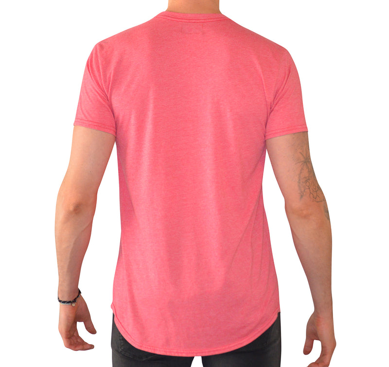 Have It Tall Curved Hem Soft Blend T Shirt