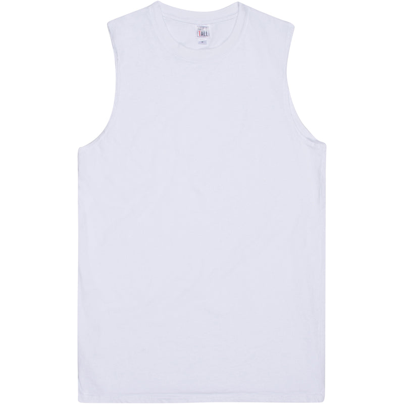 Have It Tall Premium Cotton Sleeveless T Shirt