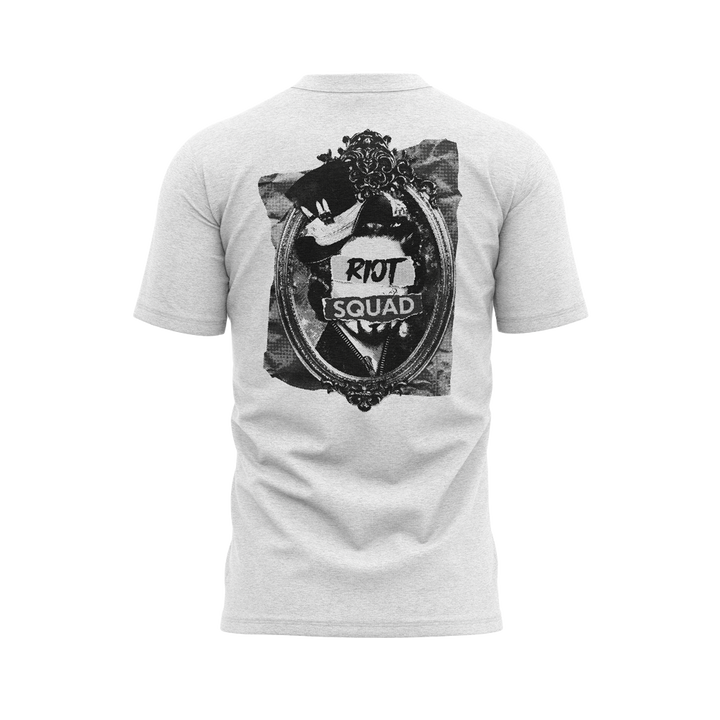 RIOT SQUAD QUEEN BACK - WHITE