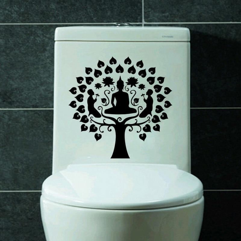 Stickers Bouddha Toilette