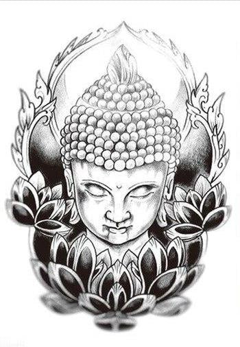 Tatouage Bouddha Lotus