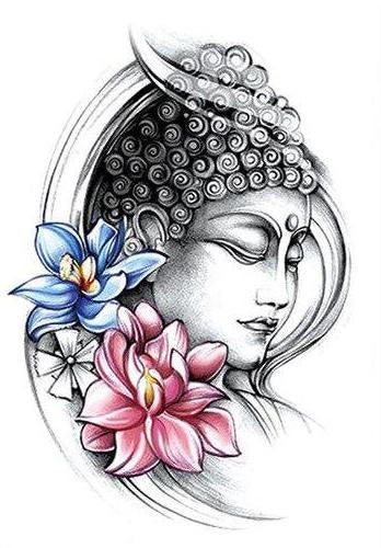 Tatouage Bouddha Simple