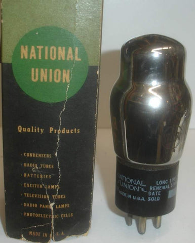 01A National Union NOS 1940's (3.1ma)