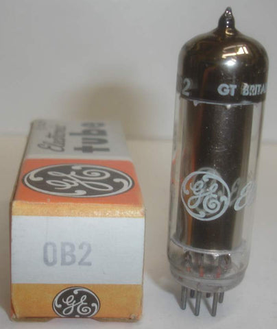 0B2 Japan NOS rebranded GE Great Britain 1970's (7 in stock)