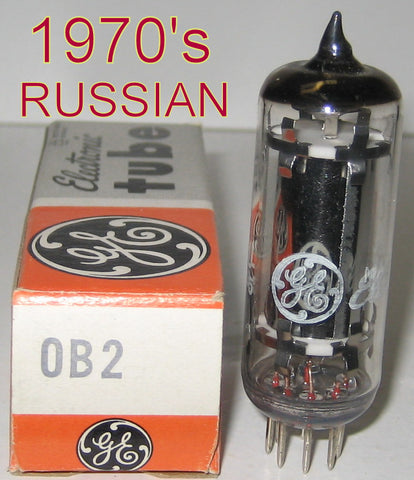 0B2 Russian NOS rebranded GE France 1970's (3 in stock)