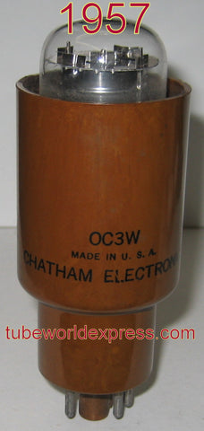 0C3W Chatham by Tungsol like new 1957