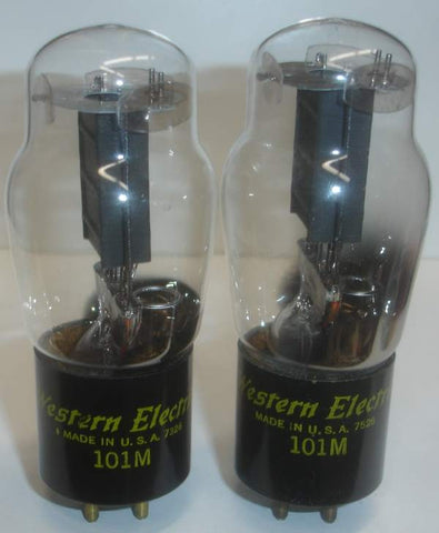 (!!) (Best 101M Pair) 101M Western Electric ST-14 NOS 1973-1975 (6.8ma and 7.4ma) (matched on Amplitrex)