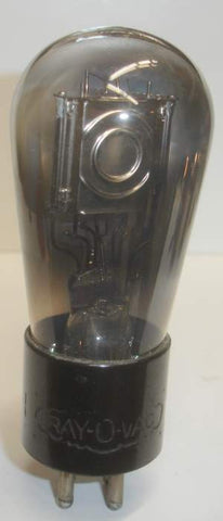112A Rayovac Balloon engraved base used/very good, internals like a UX-112A RCA (8.5ma)