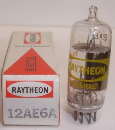 12AE6A Raytheon NOS 1960's (2 in stock)