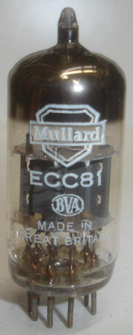 12AT7 Mullard used/good 1970 (8.8ma/14.4ma)