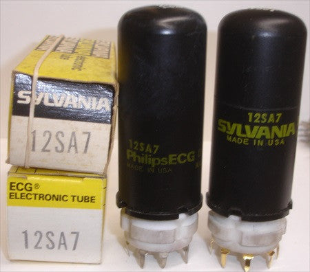 12SA7 tall metal can NOS (1 in stock)