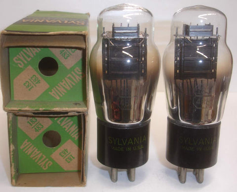 (SOLD OUT) 183=483 Sylvania NOS Power Triode original boxes 1940's
