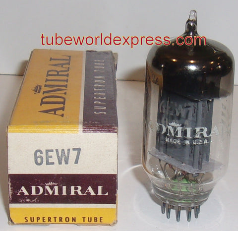 6EW7 GE ADMIRAL BIG BOTTLE gray plates NOS 1965 (5.2/34.5ma)
