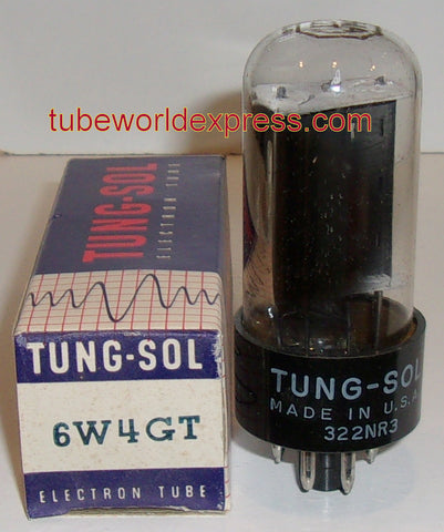 6W4GT Tungsol NOS (12 in stock)