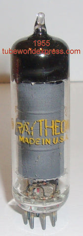 6AQ5 Raytheon gray plate