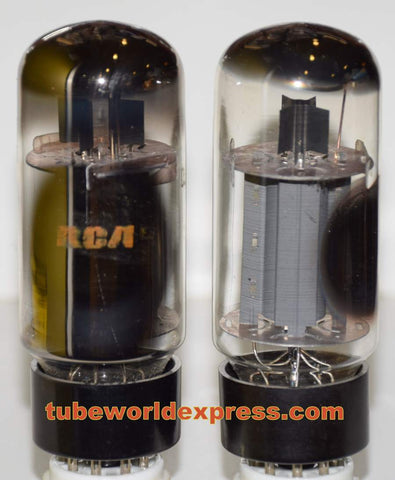 (!!!!) (Best Value Pair) 7027A RCA used/test like new 1970 era same build (67ma and 72.5ma)