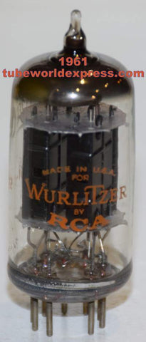 12FQ8 Wurlitzer by GE black plates used/good 1961 (10 in stock)