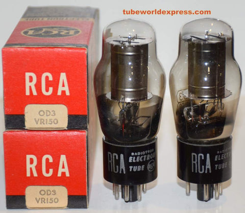 (!) (Recommended Pair) 0D3 RCA NOS 1946