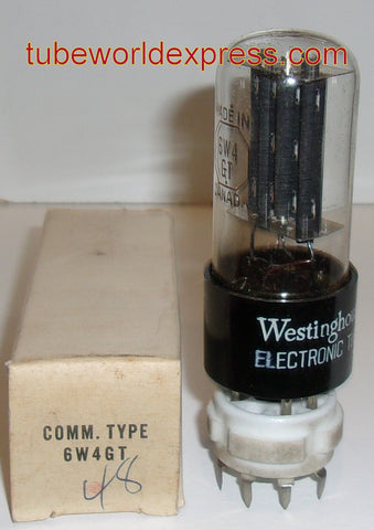6W4GT Westinghouse Canada 1959 NOS (4 in stock)