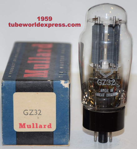 (!!!!) (Best Single) GZ32 Mullard NOS