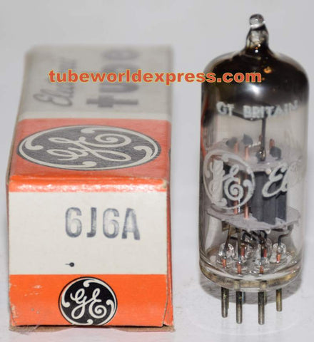 6J6A GE Great Britain made in Europe NOS