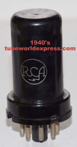 6SK7 RCA used/very good 1940's (8.6ma)
