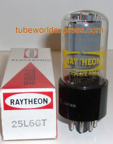 25L6GT Raytheon Japan NOS (3 in stock)