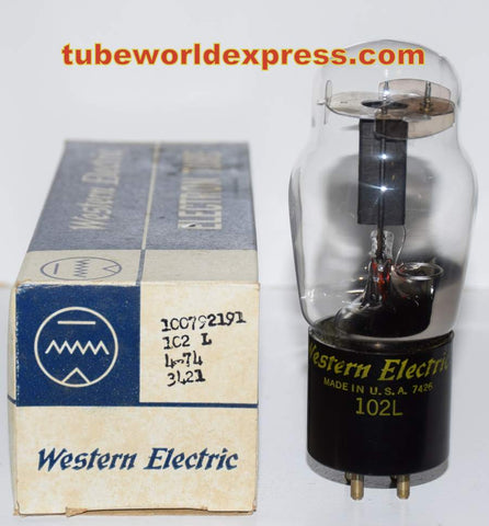 102L Western Electric ST-14 NOS/60-70% 1974 (0.4ma Gm=400)