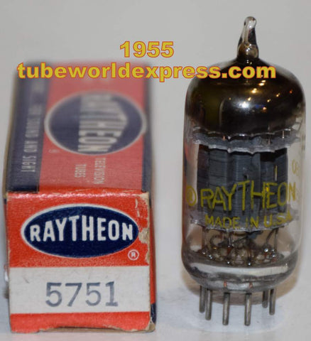 (!!!!) (Recommended Single) 5751 GE branded Raytheon gray plates triple mica