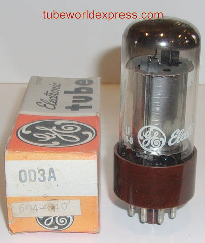 0D3A GE brown base NOS 1960's