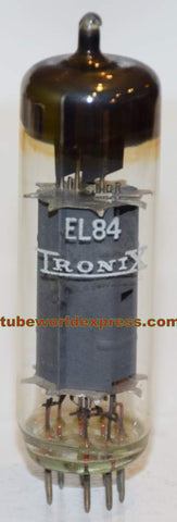 (Good Value) EL84 Tronix East Germany low hours/like new 1970's (54ma) (High Gm)