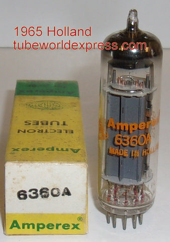6360A Amperex Globe Logo Holland 1965 Heerlen factory (2 in stock)