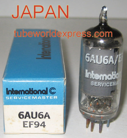 6AU6A International Japan NOS (3 in stock)