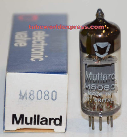 (!!) (Recommended SINGLE) CV4058=M8080=6100=6C4 Mullard NOS 1980 (8.8ma)