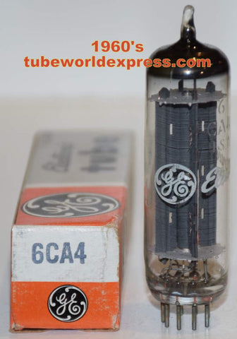 (!!!) (BEST PRICE) 6CA4=EZ81 GE NOS 1960's (6 in stock)