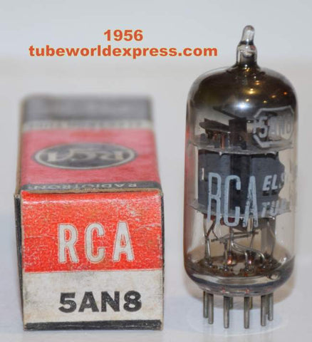 5AN8 RCA NOS 1956 sub for 6AN8 (1 in stock) best single