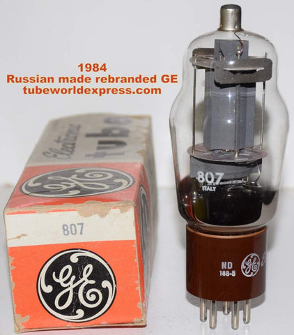 (!) 807 Russian made NOS rebranded GE 1984 (69ma)