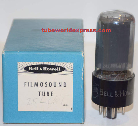 25L6GT Bell and Howell by RCA NOS 1950 era (62/45)