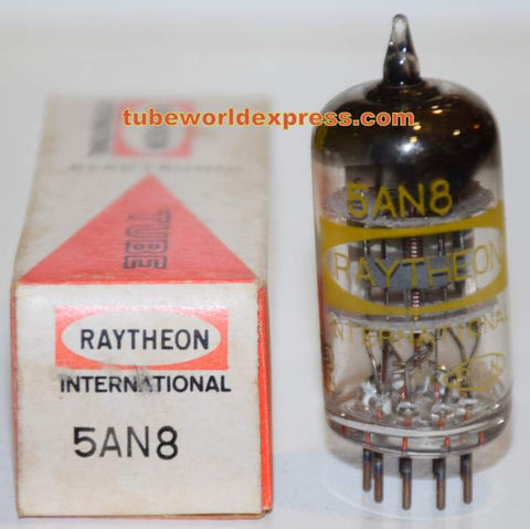 5AN8 Raytheon Japan NOS sub for 6AN8 (1 in stock)