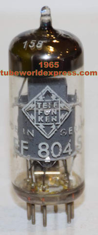 EF804S Telefunken Germany <> bottom low hours/like new 1965 (2.8ma) (V72 mic)