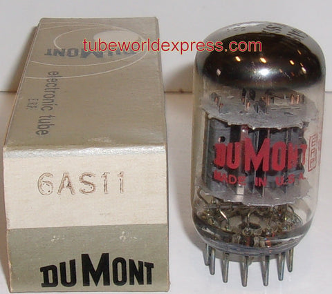 6AS11 GE branded Dumont NOS (8 in stock)