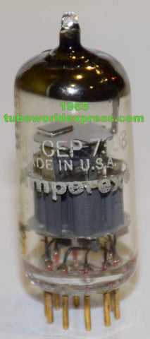 (!!) (Good Value) USN-CEP-7308 Amperex USA used/good 1965 (11.2/14.8ma)
