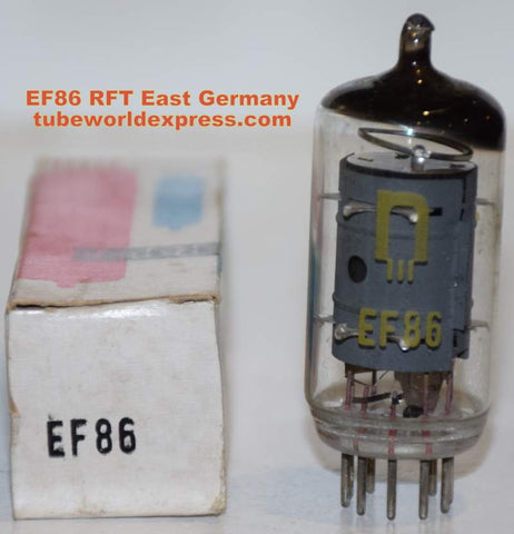 (!!!) (#1 EF86 Best Value Single) 6267=EF86 RFT East Germany by RFT NOS 1970's (2.7ma)