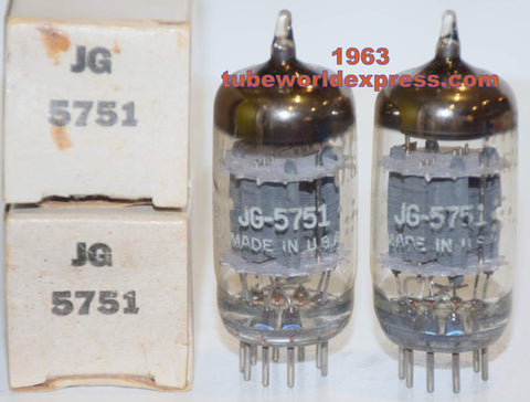 (!!!!!) (Best Overall Pair) JG-5751 GE NOS gray plates 1963 same date codes 1% matched (2.4/2.4ma and 2.4/2.5ma)