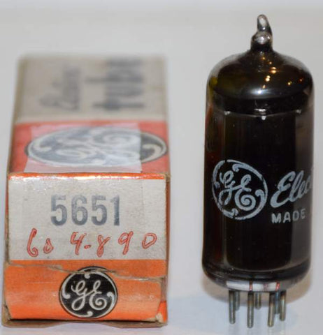5651 GE NOS 1960's (1 in stock)