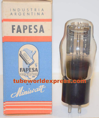 (!!) 80 Fapesa Miniwatt Argentina NOS 1950's faded printing (52/40 and 56/40)