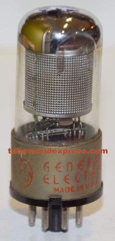 6SK7GT GE used/strong 1940's (9.2ma)