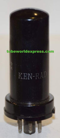 5W4 Ken Rad metal can like new 1940's (51/40 and 56/40)