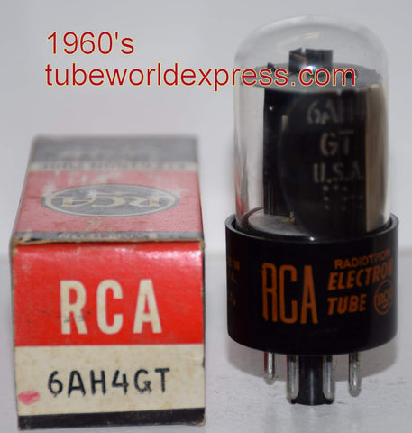 6AH4GT GE branded RCA NOS short bottle 1960's (20ma)